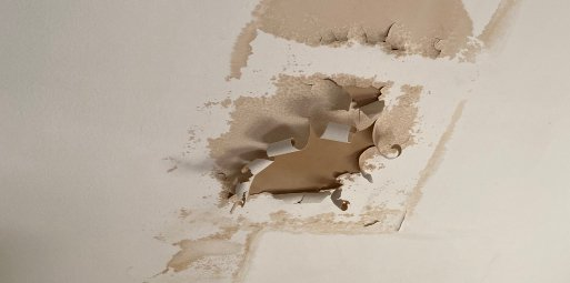 drywall water damage removal